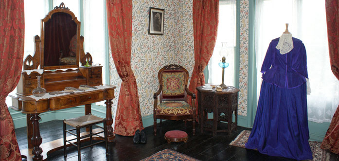 Julia Margaret Cameron's bedroom.