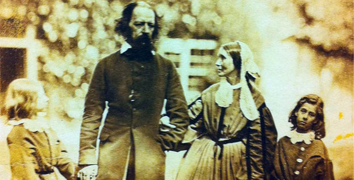 Tennyson's family