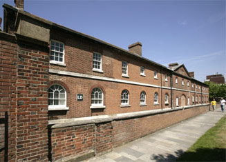 The Milldam buildings (former barracks built around 1830) are the current home of the School of Social, Historical & Literary Studies.