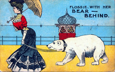 A postcard from after the Victorian era.